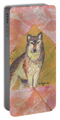 Alpha Male On Natural Leaf Portable Battery Charger