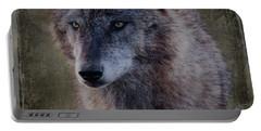 Alpha Wolf Portrait Portable Battery Charger