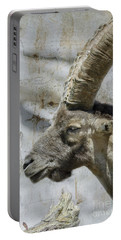 Alpine Ibex Textured Portable Battery Charger