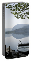 Portable Battery Charger featuring the photograph Alpine Moods by Ian Middleton