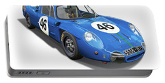 Alpine Renault A210 Portable Battery Charger by Alain Jamar