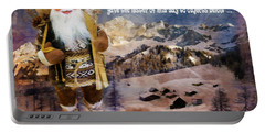 Alpine Santa Card 2015 Portable Battery Charger