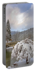 Alpine Winter Beauty Portable Battery Charger
