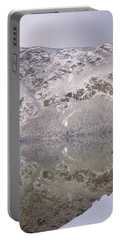 Portable Battery Charger featuring the photograph Alpine Winter Reflections by Ian Middleton