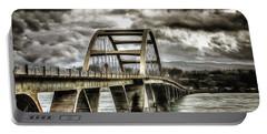 Alsea Bay Bridge Portable Battery Charger