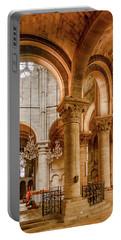 Poissy, France - Altar, Notre-dame De Poissy Portable Battery Charger