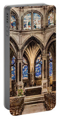 Paris, France - Altar - Saint-severin Portable Battery Charger