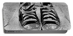 Old Sneakers. Portable Battery Charger by Don Pedro De Gracia