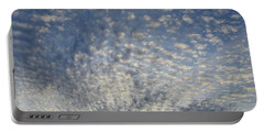 Portable Battery Charger featuring the photograph Altocumulus Clouds  by Lyle Crump