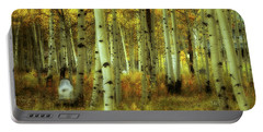 Portable Battery Charger featuring the photograph Alvarado Autumn 1 by Marie Leslie