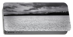 Portable Battery Charger featuring the photograph Alvord Desert by Cat Connor