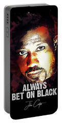 Always Bet On Black - Passenger 57 Portable Battery Charger