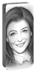 Alyson Hannigan Portable Battery Charger