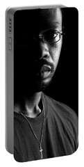 Portable Battery Charger featuring the photograph Am. by Eric Christopher Jackson