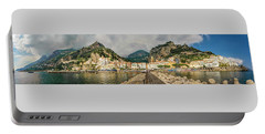Portable Battery Charger featuring the photograph Amalfi by Steven Sparks