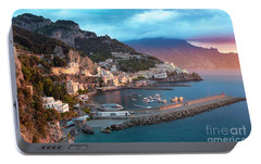 Amalfi Sunrise Portable Battery Charger by Brian Jannsen