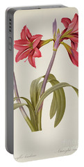 Amaryllis Brasiliensis Portable Battery Charger