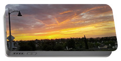 Colorful Sunset In Mission Viejo Portable Battery Charger