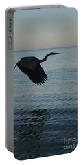 Amazing Flying Great Blue Heron Portable Battery Charger