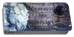 Amazing Grace - Christian Home Art II Portable Battery Charger