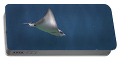 Amazing Stingray Underwater In The Deep Blue Sea  Portable Battery Charger
