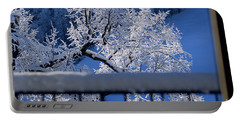Portable Battery Charger featuring the photograph Amazing - Winterwonderland In Switzerland by Susanne Van Hulst