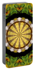 Portable Battery Charger featuring the photograph Amazon Kaleidoscope by Debbie Stahre