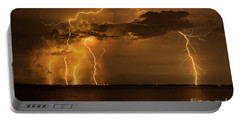 Amber Rain Portable Battery Charger by Quinn Sedam