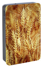 Portable Battery Charger featuring the photograph Amber Waves Of Grain 1 by Marty Koch