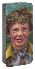 Amelia Earhart Portable Battery Charger