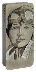 Amelia Earhart Portable Battery Charger