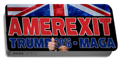 Amerexit Portable Battery Charger by Don Olea