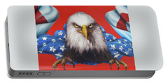 America Patriot  Portable Battery Charger