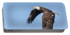 American Bald Eagle 2017-5 Portable Battery Charger by Thomas Young