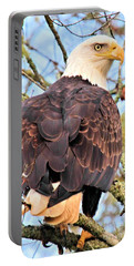 Portable Battery Charger featuring the photograph American Bald Eagle by Debbie Stahre