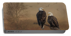 American Bald Eagle Family Portable Battery Charger