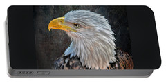Portable Battery Charger featuring the photograph American Bald Eagle by Savannah Gibbs