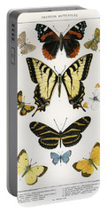 American Butterflies Portable Battery Charger