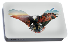 American Eagle Portable Battery Charger by John Beckley
