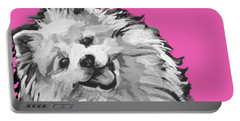 American Eskimo Pooch Portable Battery Charger