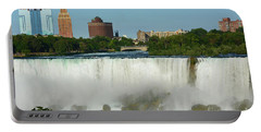 American Falls With Bridal Veil Portable Battery Charger