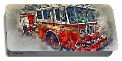 American Fire Truck Portable Battery Charger