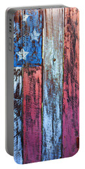 American Flag Gate Portable Battery Charger