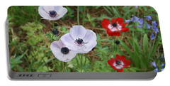 American Flowers Portable Battery Charger