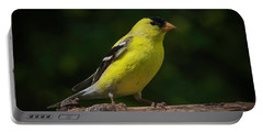 American Goldfinch Male Portable Battery Charger