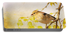 American Goldfinch Portable Battery Charger