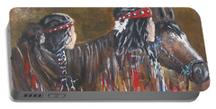 American Indians Family Portable Battery Charger