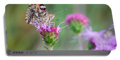 American Lady Butterfly Portable Battery Charger