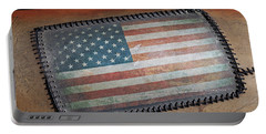 Portable Battery Charger featuring the photograph American Leather by Christopher McKenzie