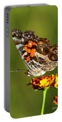 American Painted Lady Portable Battery Charger